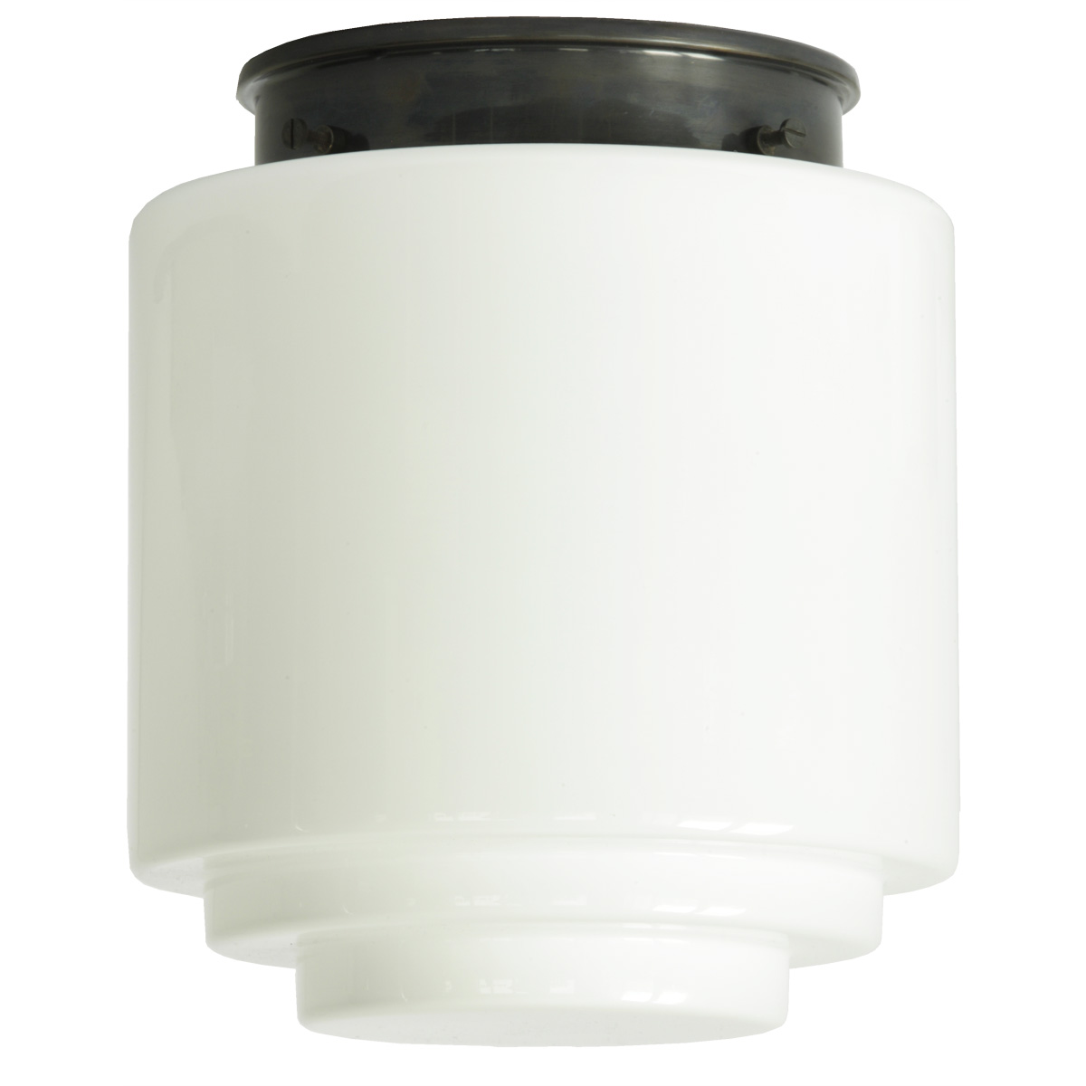 art d co deckenleuchten otto m llers sistrah und stufen opalglasleuchten lumi leuchten. Black Bedroom Furniture Sets. Home Design Ideas