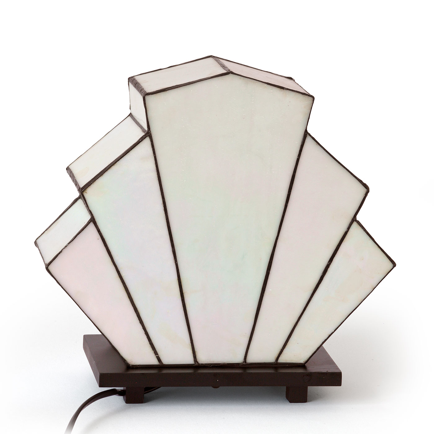Art déco-Tischleuchte Tiffany-Glas