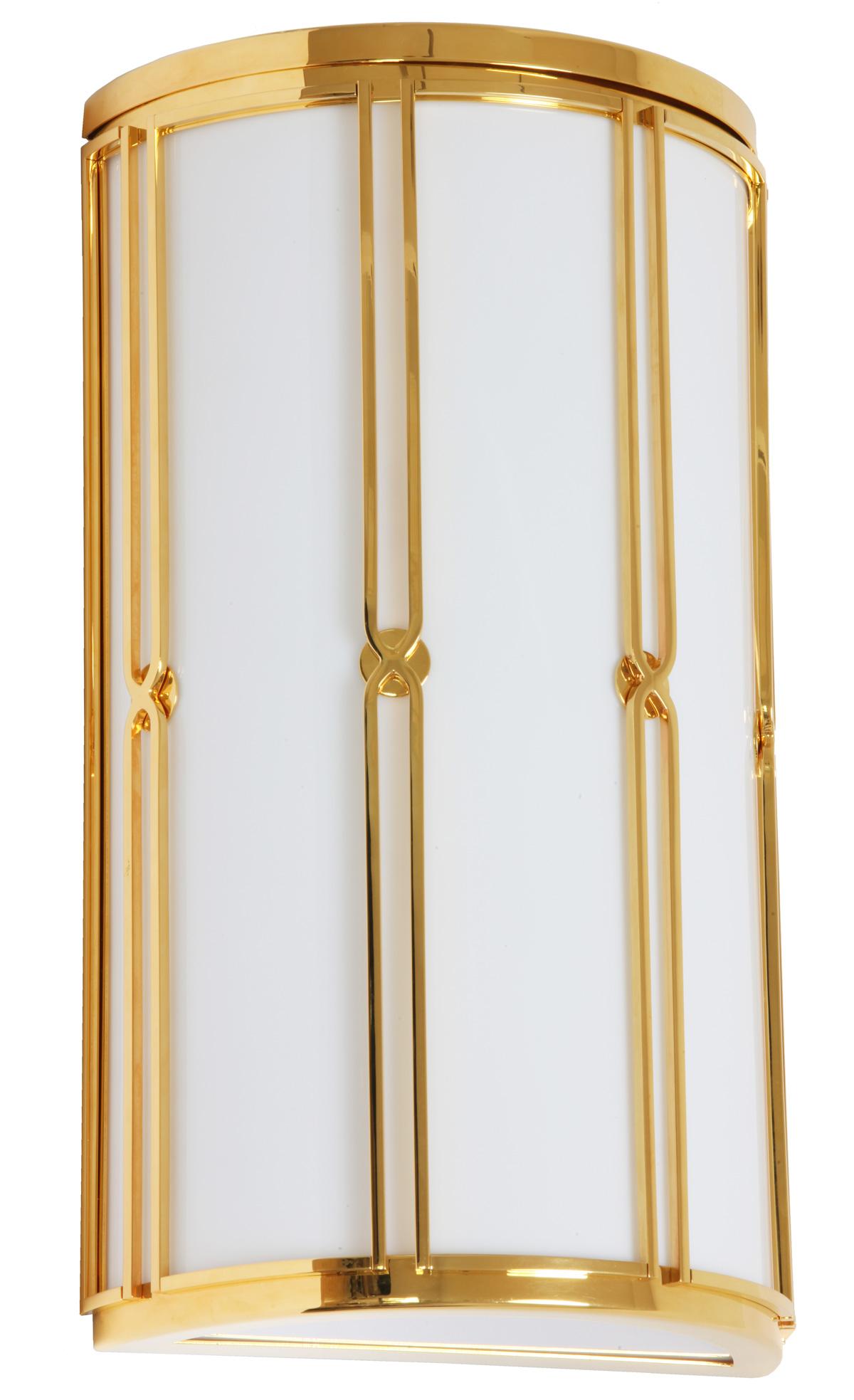 gold ist das neue messing wandleuchte mit 24 karat f rs. Black Bedroom Furniture Sets. Home Design Ideas