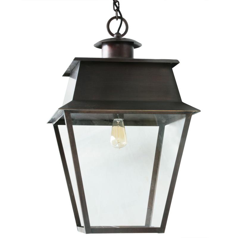 franz sische h ngelaternen aus messing oder zink lumi leuchten. Black Bedroom Furniture Sets. Home Design Ideas