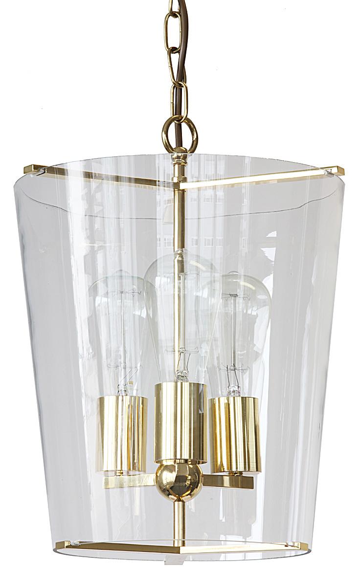 Klassische Hängeleuchten mit Kristallglas-Zylinder