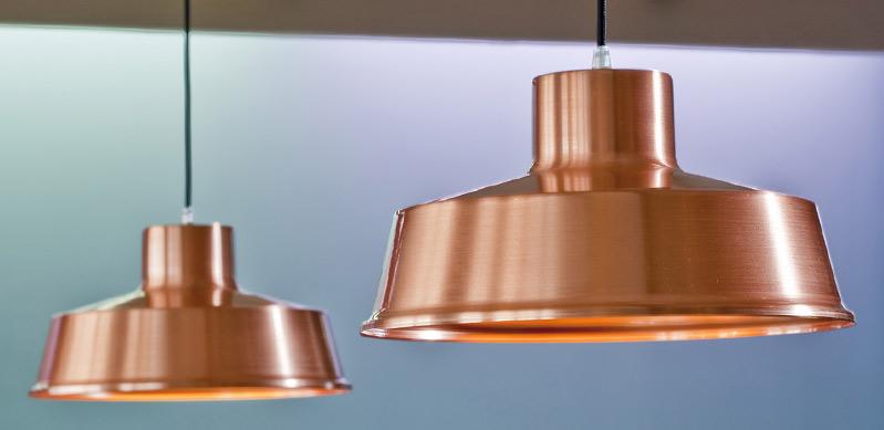 Kupfer lampen beitr lumi leuchten for Lampen kupfer